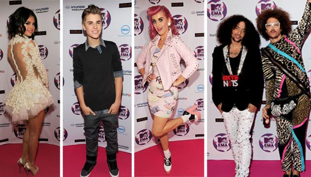 MTV EMA 2011 | Vörös szőnyeg